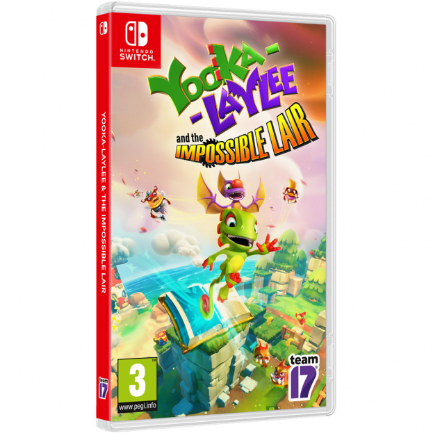 YOOKA-LAYLEE AND THE IMPOSSIBLE LAIR-SWITCH