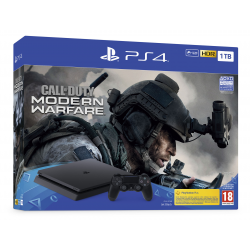 CONSOLA PS4 SLIM 1TB F + CALL OF DUTY: MW 2019