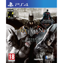 BATMAN ARKHAM COLLECTION-PS4