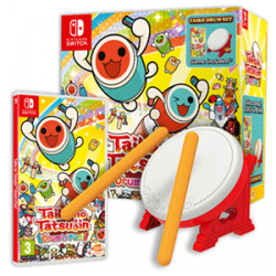TAIKO NO TATSUJIN: DRUMN FUN PACK CON TAMBOR-SWITCH