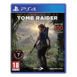 SHADOW OF THE TOMB RAIDER DEFINITIVE EDITION-PS4