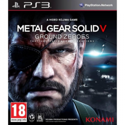 METAL GEAR SOLID V GROUND ZEROES-PS3