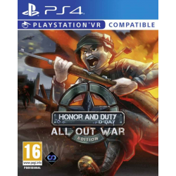 VR HONOR AND DUTY D-DAY: ALL OUT WAR EDITION-PS4