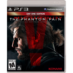 METAL GEAR SOLID V THE PHANTOM PAIN DAY ONE ED-PS3