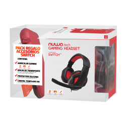 PACK ACCESORIOS SWITCH ROJO