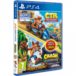 PACK CTR NITRO FUELED+CRASH N.SANE TRILOGY-PS4