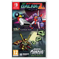 GALAK-Z: THE VOID/SKULLS OF THE SHOGUN BONE-A-FIDE PLATINUM PACK-SWITCH
