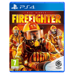 REAL HEROES: FIREFIGHTER-PS4