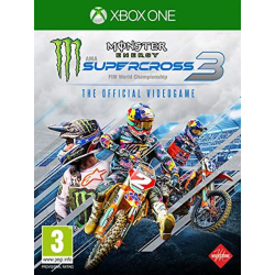 MONSTER ENERGY SUPERCROSS – THE OFFICIAL VIDEOGAME 3-XBOX ONE