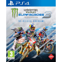 MONSTER ENERGY SUPERCROSS – THE OFFICIAL VIDEOGAME 3-PS4