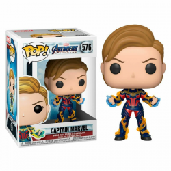 FIG FUNKO POP MARVEL VENGADORES ENDGAME CAPITAIN MARVEL WITH NEW HAIR