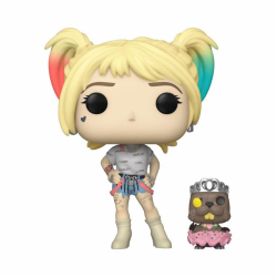 FIG FUNKO POP DC BIRDS OF PREY HARLEY QUINN WITH BEAVER