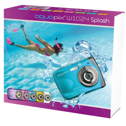"CAMARA DIGITAL - ACUATICA EASYPIX AQUAPIX® W1024 ""SPLASH"""