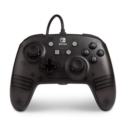 POWER A - ENHANCED WIRED CONTROLLER - BLACK FROST-SWITCH