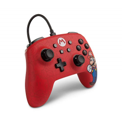 POWER A - WIRED CONTROLLER MARIO / ENHANCED CON AUDIO-SWITCH