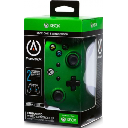 POWER A - ENHANCED WIRED CONTROLLER -EMERALD FADE  XBOXONE