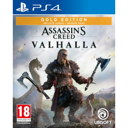 ASSASSIN'S CREED VALHALLA GOLD-PS4