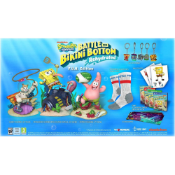 BOB ESPONJA: BATTLE FOR BIKINI BOTTOM - REHYDRATED - F.U.N EDITION-PS4