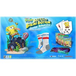 BOB ESPONJA: BATTLE FOR BIKINI BOTTOM - REHYDRATED - SHINY EDITION-PS4
