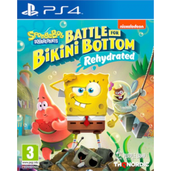 SPONGEBOB SQUAREPANTS:BATTLE FOR BIKINI BOTTOM-REHYDRATED-PS4