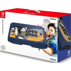HORI SWITCH REAL ARCADE PRO V STREET FIGHTER (CHUN-LI EDITION)