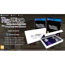 RE:ZERO - THE PROPHECY OF THE THRONE-PS4