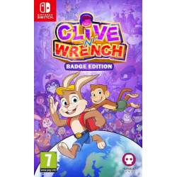 CLIVE 'N' WRENCH WITH PIN BADGES SET-SWITCH