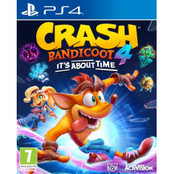 CRASH BANDICOOT 4 IT'S ABOUT TIME-PS4