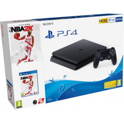 C PS4 SLIM 500 GB + NBA 2K21
