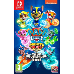 PAW PATROL MIGHTY PUPS SAVE ADVENTURE BAY!-SWITCH