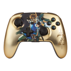 POWER A-ENHANCED WIRELESS CONTROLLER – CHROME LINK GOLD NSW