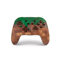 POWER A-WIRELESS CONTROLLER MINECRAFT GRASS SWITCH