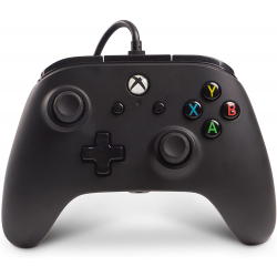 POWER A - MANDO CON CABLE CORE NEGRO-XBOX ONE