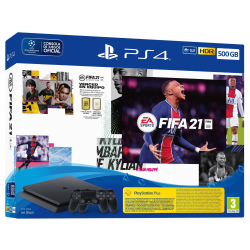C PS4 500 GB + 2º DS4 + FIFA 21