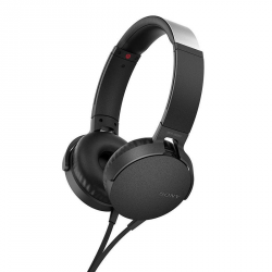 SONY AURICULARES NEGROS MDRXB550 EXTRA BASS™