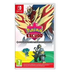 POKEMON ESCUDO + EXPANSION PASS-SWITCH