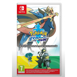POKEMON ESPADA + EXPANSION PASS-SWITCH