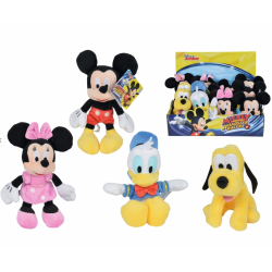 PELUCHE DISNEY MCH 20 CM, 4 SURT EN DISPLAY