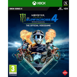 MONSTER ENERGY SUPERCROSS - THE OFFICIAL VIDEOGAME 4-XBOX SERIES X
