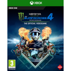 MONSTER ENERGY SUPERCROSS - THE OFFICIAL VIDEOGAME 4-XBOX ONE