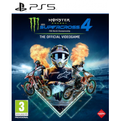 MONSTER ENERGY SUPERCROSS - THE OFFICIAL VIDEOGAME 4-PS5
