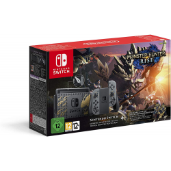C NINTENDO SWITCH  MONSTER HUNTER RISE EDICION ESPECIAL