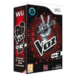 LA VOZ VOL. 3 BUNDLE-WII