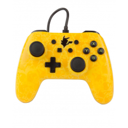 POWER A SWITCH WIRED CONTROLLER PIKACHU SILHOUETTE