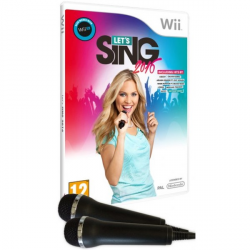 LETS SING 2016 + 2 MICROS-WII