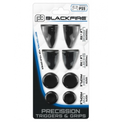 PS5 BLACKFIRE 8IN1 PRECISSION TRIGGERS & GRIPS KIT