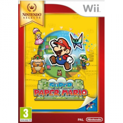 SUPER PAPER MARIO SELECT-WII
