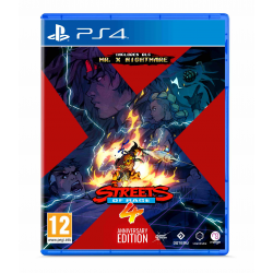 STREETS OF RAGE 4 : ANNIVERSARY EDITION-PS4