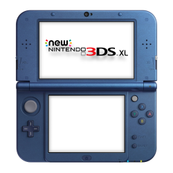 C NEW 3DS XL AZUL METÁLICO