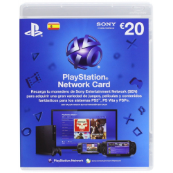 TARJETA PLAYSTATION LIVE CARDS HANG EUR 20